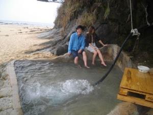 浜の露天風呂