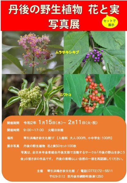 花と実写真展2020.1.15